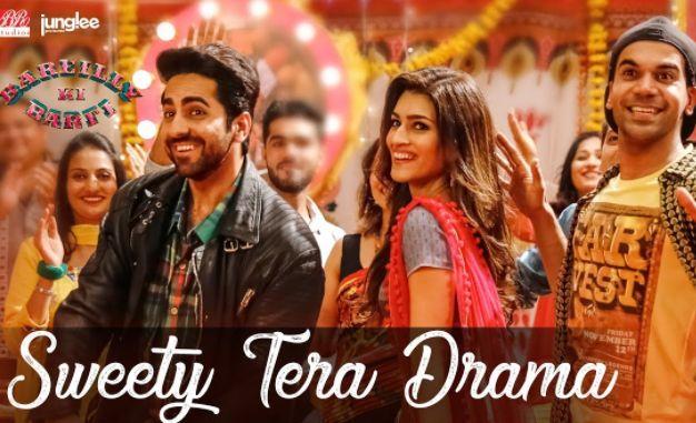 Sweety Tera Drama Lyrics – Bareilly Ki Barfi   Kriti Sanon, Ayushmann Khurrana, Rajkummar Rao #song #Lyrics #Music #video #news