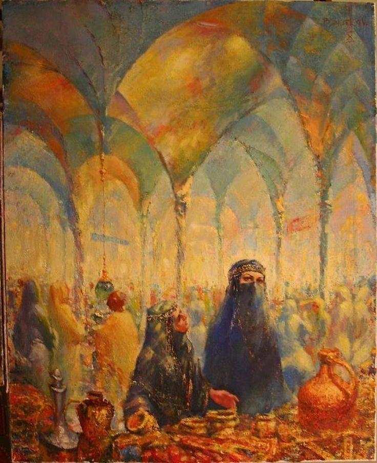 восточный базар живопись: 10 тыс изображений найдено в Яндекс.Картинках