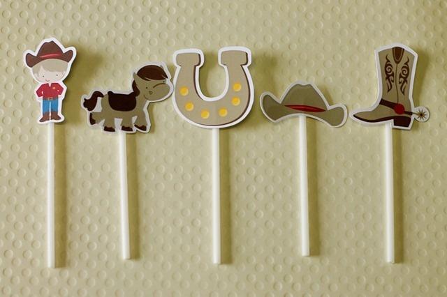 Festa Pronta - Cowboy - Faroeste - Xerife - Tuty - Arte & Mimos www.tuty.com.br