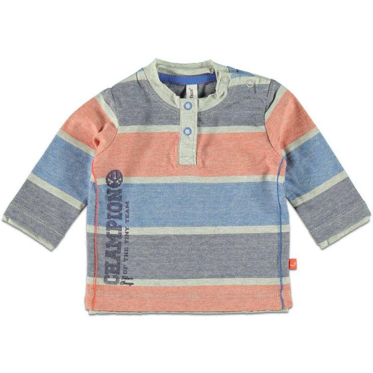 Babyface Shirt Boy met Streep - lange mouw