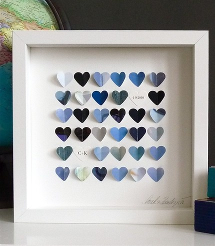 Little Sky Heart Personalized Framed Picture: I can see this above my desk ...
