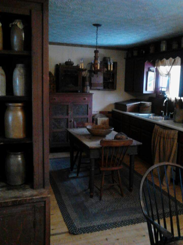 1078 best country and primitive kitchens images on Pinterest ...