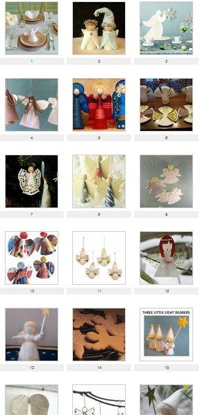 Natale: 30 e più progetti creativi e idee per realizzare angeli