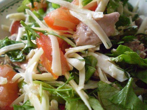 Рецепт салата из печени трески и апельсинами