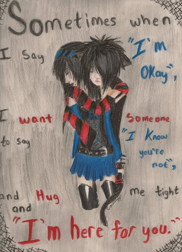 I Want This To Happen Just At Least Once In My Life Emo Lovesad Drawings Emo Artemo Couplesemo Quotesdrawing