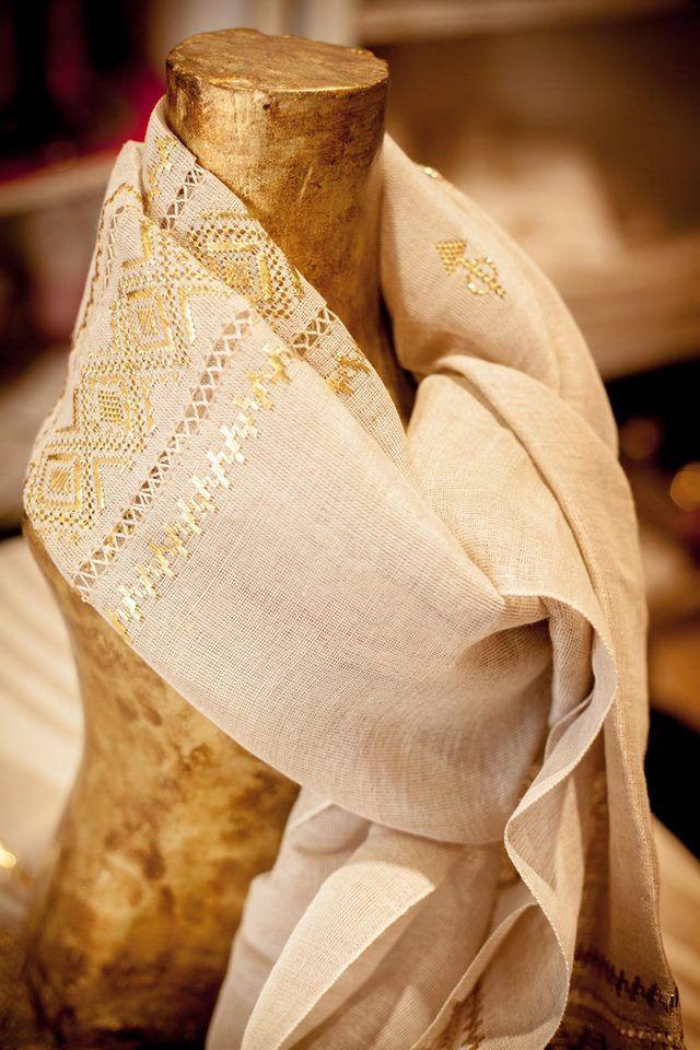 Tunisian Fabric <3 Scarf