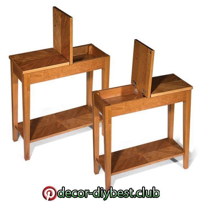 Schmale Beistelltische Fur Wohnzimmer Diy End Tables Small End