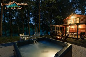 NC Cabin Rentals in Bryson City, Cherokee and Nantahala areas of the Smoky Mountains by Carolina Mountain Vacations