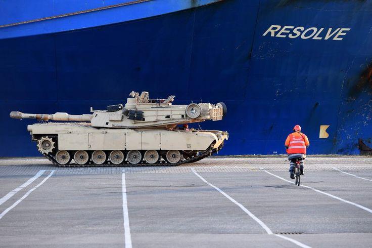 """Atlantische Entschlossenheit für Osteuropa: """"Atlantic Resolve"""" heißt die..."""
