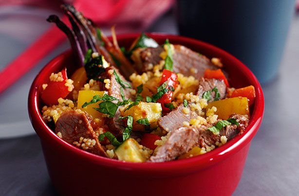 Slimming World's minted lamb couscous salad recipe - goodtoknow