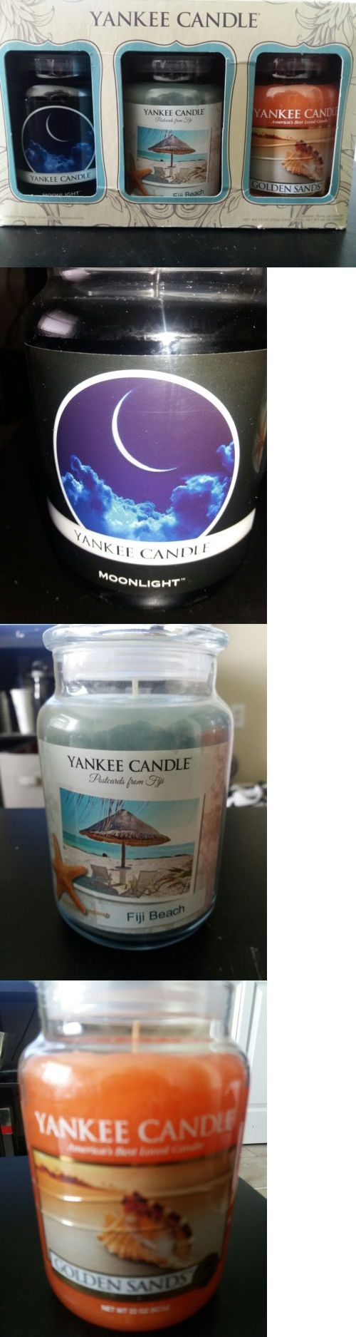 Candles 46782: Yankee Candle 3 Candle Set -> BUY IT NOW ONLY: $50 on eBay!