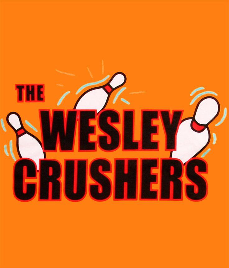 Camiseta The Big bang Theory. The Wesley Crushers
