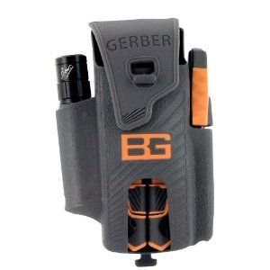 Gerber 31-001047 Bear Grylls Ultimate Survival Pack, with Multitool, Flashlight and Fire Starter