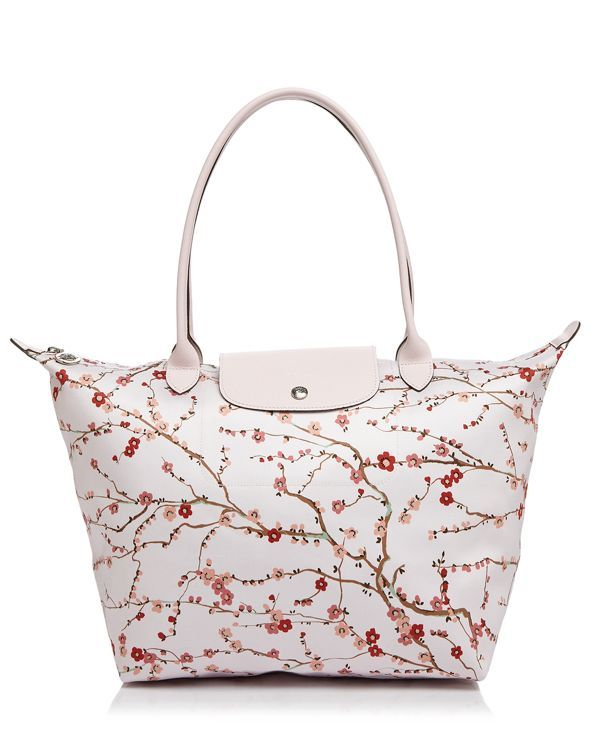 Longchamp Le Pliage Sakura Large Tote 100 Exclusive Random Things I Like In 2018 Pinterest Bags And