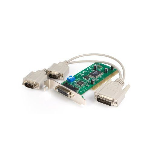 StarTech.com 2 Port Low Profile RS-422/485 PCI Serial Card (PCI2S485LP) by StarTech. $66.99. This Low Profile 2 port PCI serial card (RS-422/485) suits a broad range of environments, and is a perfect addition for connecting two-wire (with Auto Transceiver Turn Around feature, ATTATM) and four-wire configured serial devices to a host computer. Compliant with PCI 2. 2 standard specifications, the serial card offers a high performance 16C950 compliant UART and maximum d...