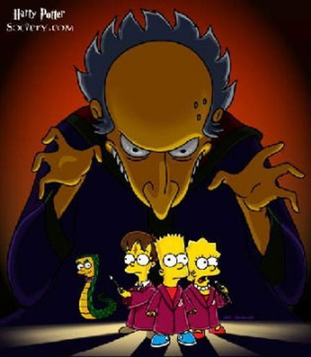 The Simpsons: Harry Potter