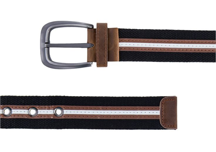 Black Canvas Belt dari ZALORA. Black canvas belt with black color and earthy striped on the middle, a combination of masculine color, classic design belt that look cool, casual belt for your casual style. http://www.zocko.com/z/JI3MQ