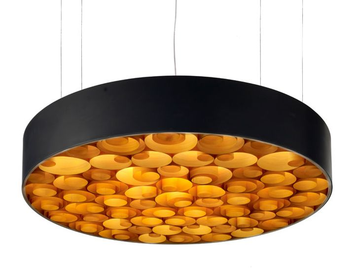 Spiro suspension lamp by Remedios Simon for LZF 04
