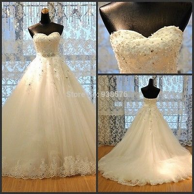 Vintage Sweetheart Wedding Dresses 2016 New Fashion Bridal Gowns Weeding Dress in Clothing, Shoes & Accessories,Wedding & Formal Occasion,Wedding Dresses | eBay