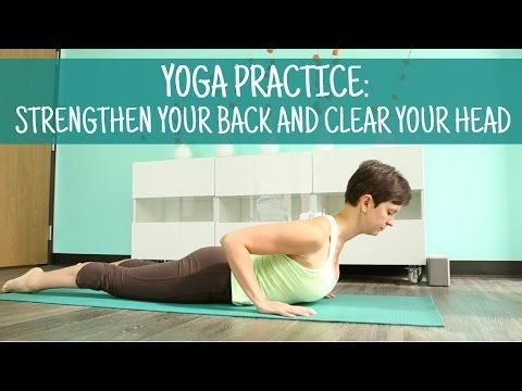 strengthen your back and clear your head  yoga teachers