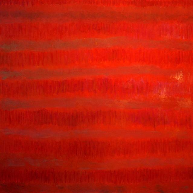 Françoise Sullivan, Opus nu.5, 2009, oil on canvas, 60x60in © Courtesy Corkin Gallery