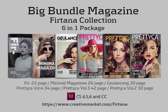 Big Bundle Magazine by Firtana on @creativemarket