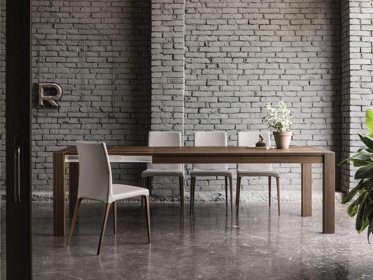 RUBINO Tavolo allungabile by Dall'Agnese design Imago Design, Massimo Rosa