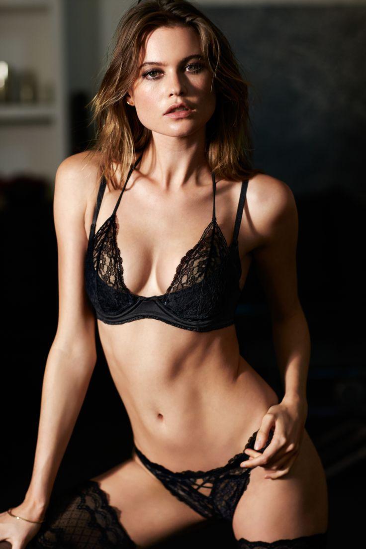 Day or night, #Fearless never sleeps. | Victoria's Secret Halter Plunge Bra & Cheekini Panty