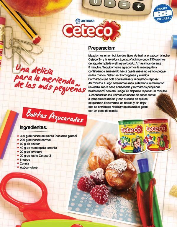 Merienda Escolar - Ceteco on Behance