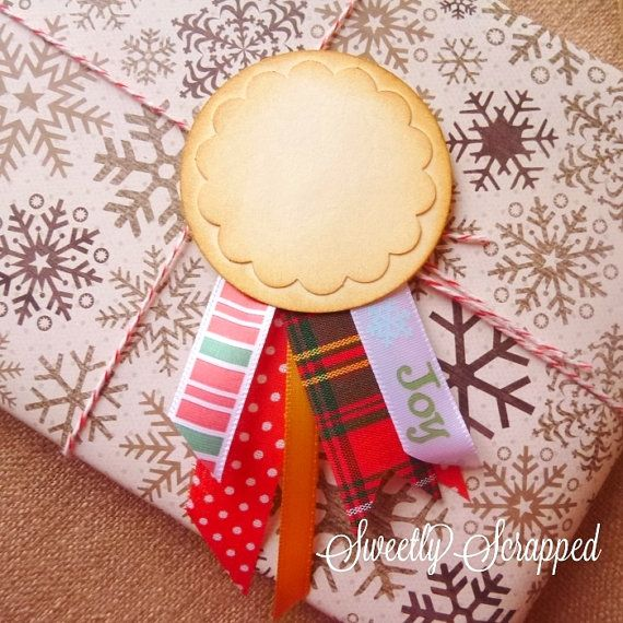 Ribbon Embellishment Scrapbooking Journal by SweetlyScrappedArt