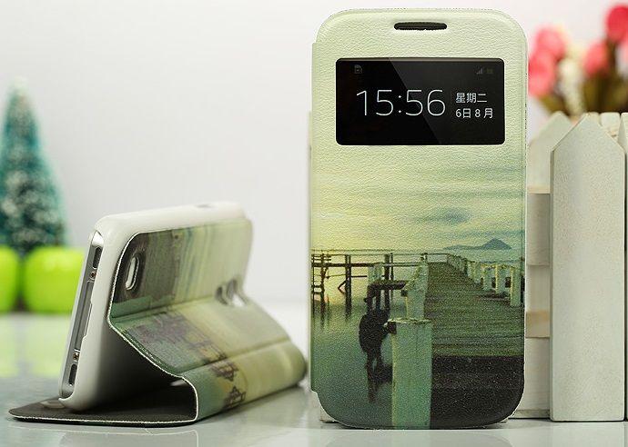 Θήκη Lake Preview Window Flip Case OEM (Samsung Galaxy S4 mini) - myThiki.gr - Θήκες Κινητών-Αξεσουάρ για Smartphones και Tablets - Γέφυρα στην λίμνη