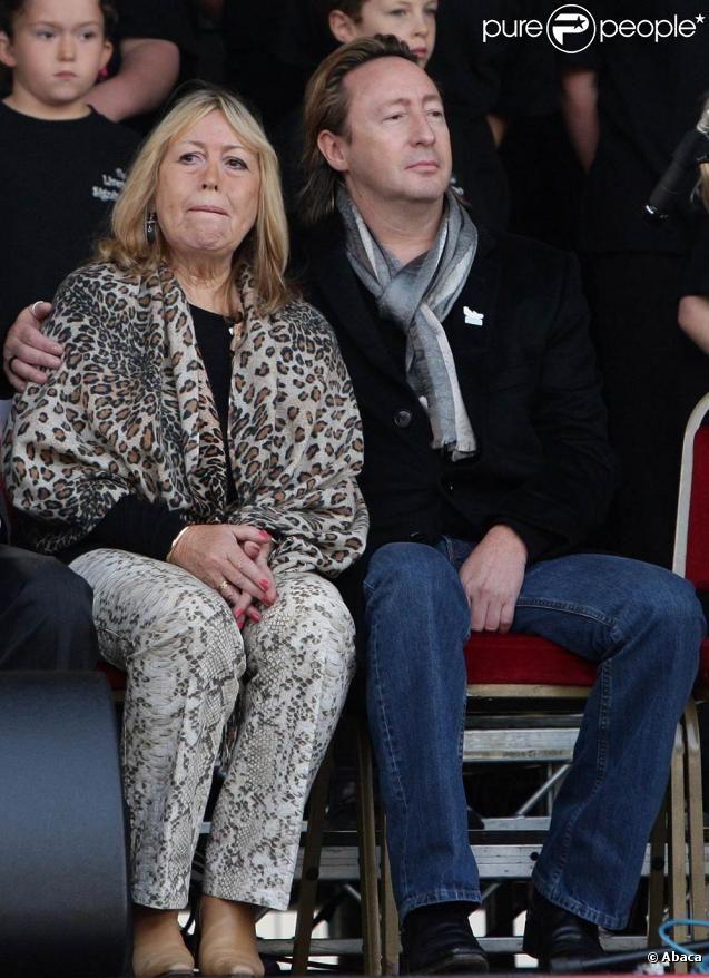 Julian Lennon W/ his Mum ~
