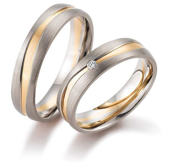 17 Best ideas about Matching Wedding Rings on Pinterest