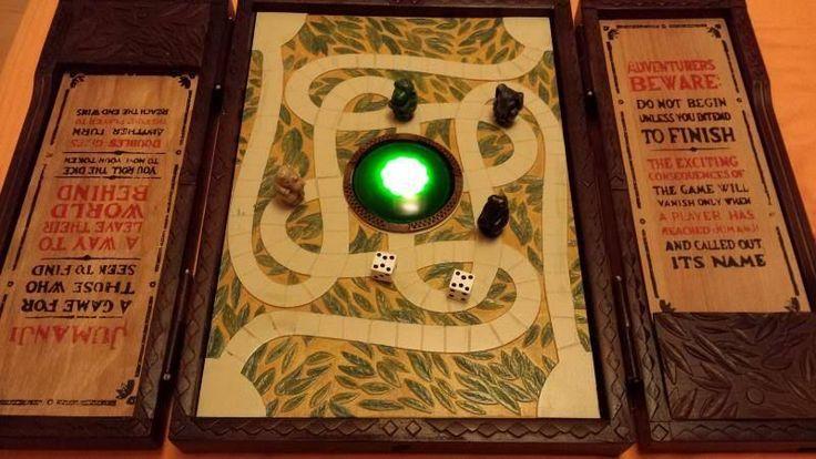 Jumanji Board Game Prop Replica.