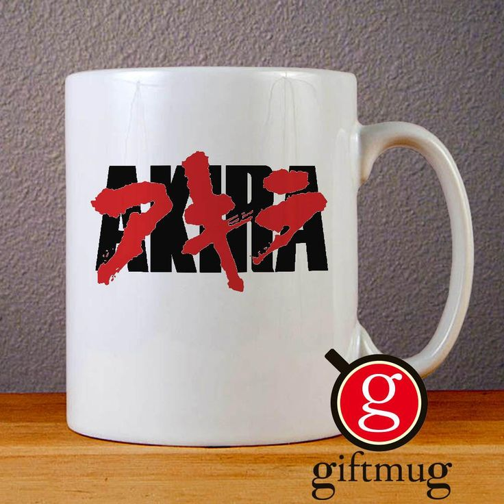 Akira Anime Japan Logo Ceramic Coffee Mugs