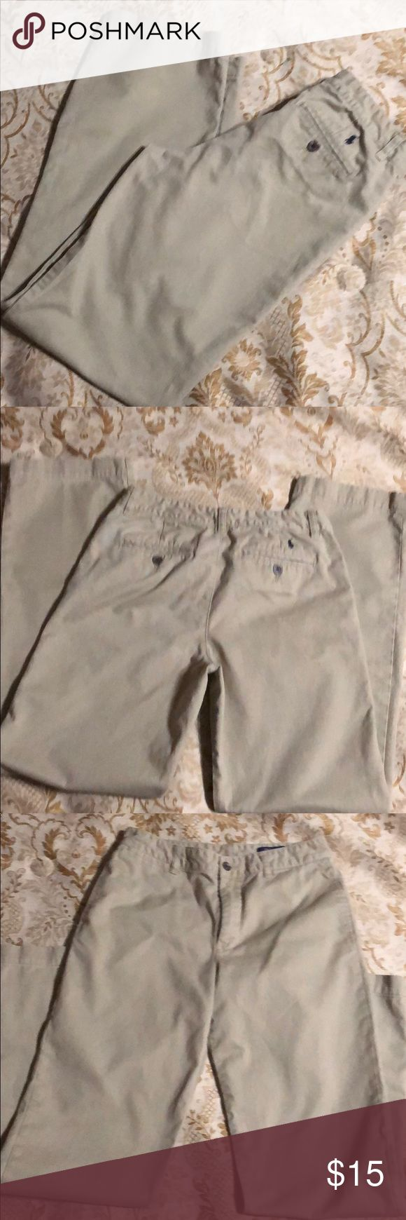 Boys kaki Ralf Lauren pants Gently used in great condition Polo by Ralph Lauren Bottoms Casual