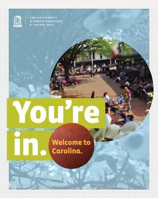 UNC-CH 2014 Admitted Students Brochure for First-Years