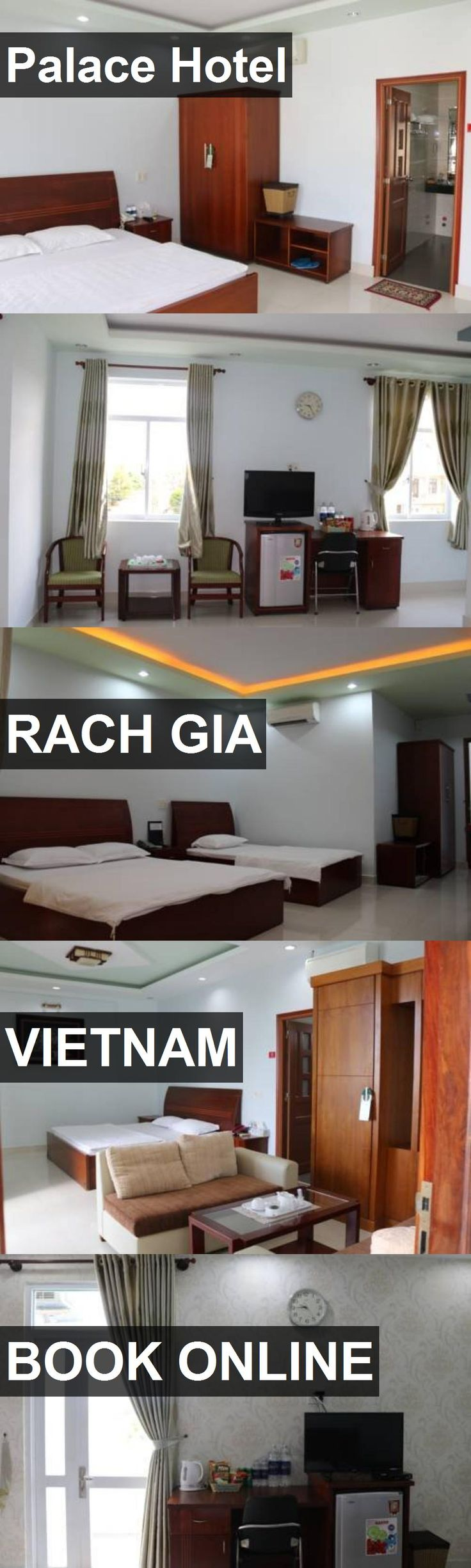 Palace Hotel in Rach Gia, Vietnam. For more information, photos, reviews and best prices please follow the link. #Vietnam #RachGia #travel #vacation #hotel
