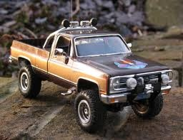 The Fall Guy truck model