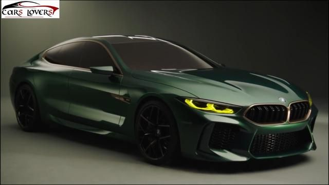 The new BMW M8 Gran Coupe Concept illustrates the meaning
