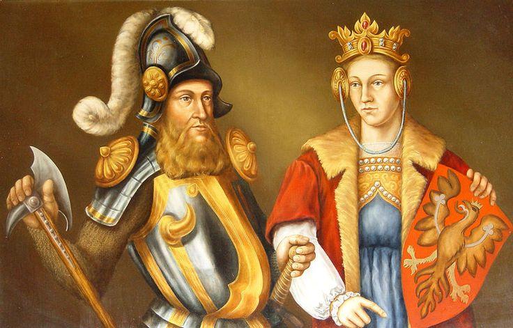 Bogusław V Pomorski i Elżbieta Piastówna