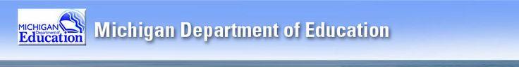 Michigan.gov/MDE.  MOECS login page