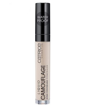 """""""Newly found holy grail - Catrice Liquid Camouflage Concealer, that is only 3.60 euros in the drugstore (Netherlands)! As a person who has suffered from extreme dark circles my entire life (even when I get enough sleep), this has been the best coverage concealer that stays the whole day when used with a primer (same brand, also cheap af), and actually gives the impression that I'm a normal living creature."""" —Viliana M.  Get it from Ulta for $4.49."""