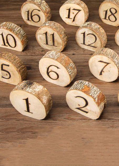 """Números de tabla para láminas de madera natural: promedio de 4 """"de diámetro20 por paquete"""