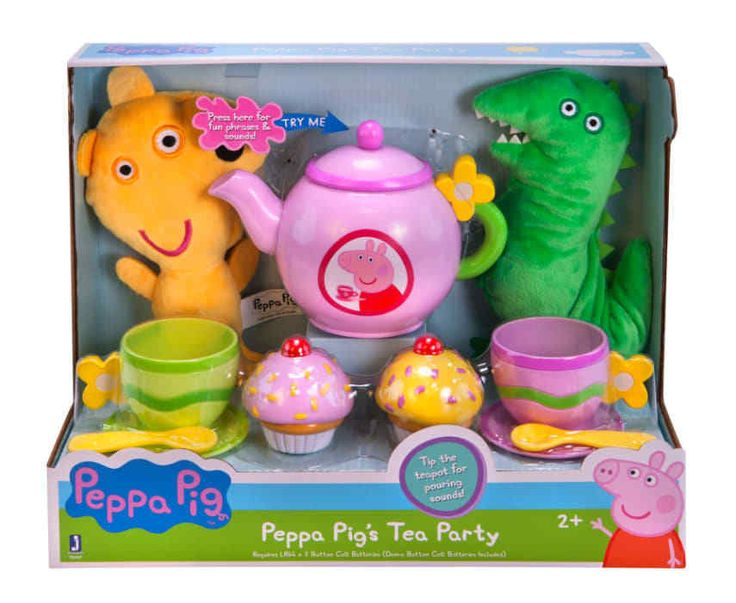 Peppa Pig Peppa's Tea Party Set - With sounds (11 Piece set) NEW! free shipping #PeppaPig