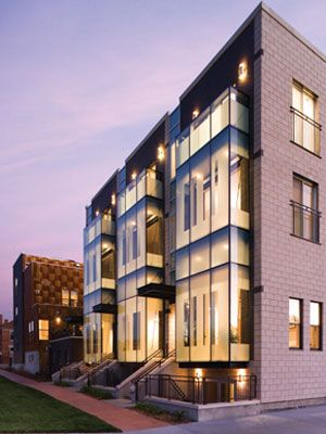 Merchant Row Brownstones Residential development in Denver, CO by Christian and…