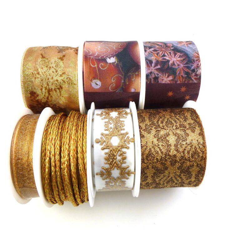 Weihnachtsbänder für Geschenke und weihnachtlicher Dekoration  #weihnachtsband #weihnachtsgeschenke #weihnachtsdekoration
