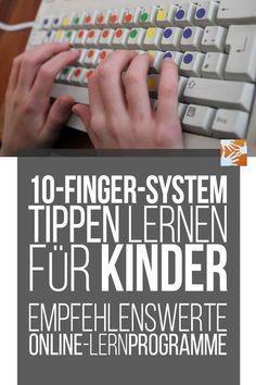 10-Finger-System lernen für Kinder: empfehlenswerte Online-Lernprogramme – Helena Renz