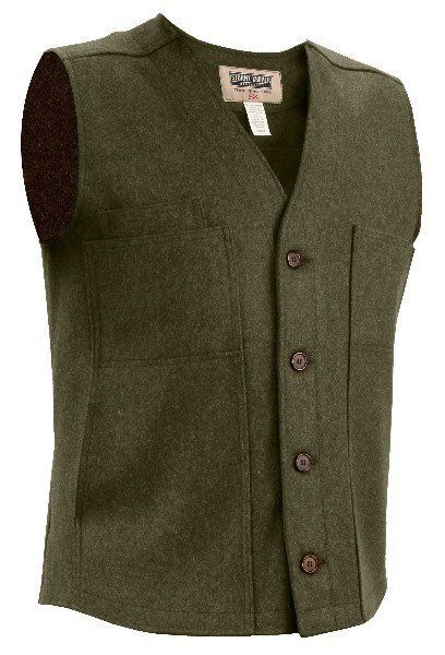 Stormy Kromer Men's Button Vest - Men's Clothing - Apparel | Made in USA | Guaranteed For Life | Duluth Pack