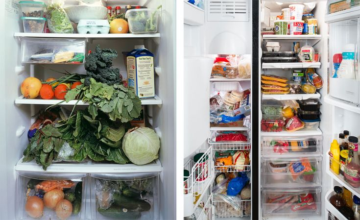 Photos Of What's Inside People's Fridges: